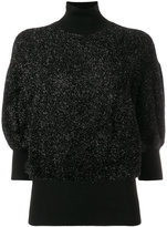 By Malene Birger roll neck puffed jumper