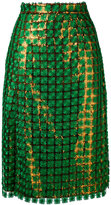 Marco De Vincenzo sequin skirt