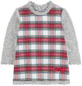 Mayoral Knit Plaid Dress