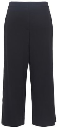 Rag & Bone Molly Satin-trimmed Cady Wide-leg Pants