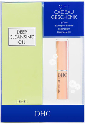 DHC Deep Cleansing Oil and Lip Cream Gift Set (Worth 32.75)