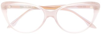Cutler & Gross Cat Eye Frame Glasses