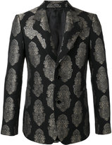 Alexander McQueen paisley brocade blazer