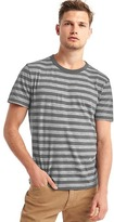 Gap Stripe crew slub t-shirt