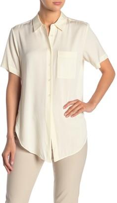 Theory Hekanina Silk Blend Shirt
