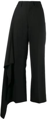 Ami Paris Side Panel Wide Trousers