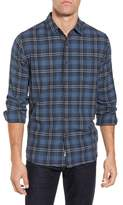 Grayers Truman Slim Fit Herringbone Twill Sport Shirt
