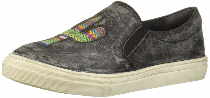 Roper Women's Mane Cactus Loafer Flat Black 6.5 D US
