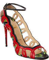 Christian Louboutin Houla Hot 100 Leather Sandal