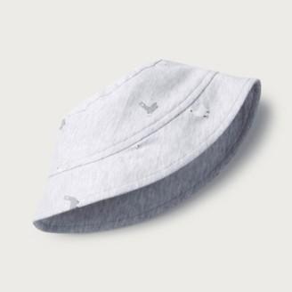 The White Company Llama Baby Hat, Grey, 6-12mths