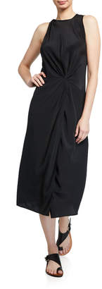 Rag & Bone Seon Silk Midi Dress