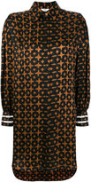 Fendi embroidered shirt dress