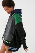 BDG Lena Oversized Reversible Varsity Jacket