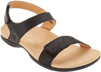 Spenco Orthotic Adjustable Backstrap Sandals - Milan
