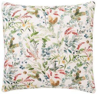 Pottery Barn Noel Botanical Percale Comforter Shams
