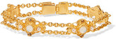 Ben-Amun Gold-Plated Faux Pearl, Stone And Crystal Bracelet