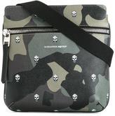 Alexander McQueen camouflage print messenger bag