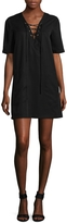 BCBGeneration Women's Lace Up Dress