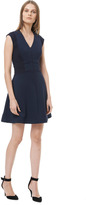 Rebecca Taylor Flared Fitted Dress