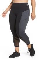 Zella Plus Size Women's Mega Block Midi Leggings