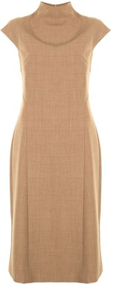 ANNA QUAN Cap Sleeve Dress