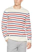 Fat Face Men's Stripe Long Sleeve Top