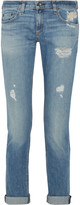 Rag & Bone Dre distressed boyfriend jeans