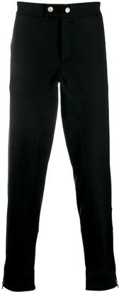 Alexander McQueen Zipped Hem Straight-Leg Trousers