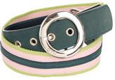 Dolce & Gabbana Multicolor Canvas Waist Belt