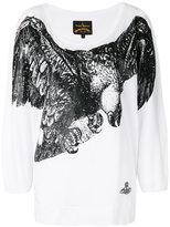 Vivienne Westwood bird print T-shirt - women - Cotton - S