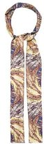 Valentino Abstract Print Silk Scarf