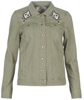 Only ONLBRINDA women's Jacket in Green
