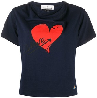 Vivienne Westwood heart print organic cotton T-shirt