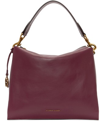 Etienne Aigner Ellie Leather Hobo Shoulder Bag