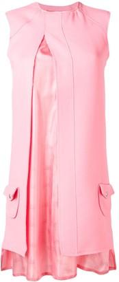 Courreges split mini dress