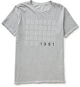 GUESS Embroidered 1981 Short-Sleeve Graphic Tee
