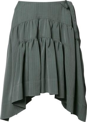 J.W.Anderson Drape mini skirt