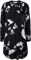 A.F.Vandevorst embroidered shirt dress - women - Silk/Lyocell - 34