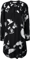 A.F.Vandevorst printed shirt dress - women - Silk/Lyocell - 36