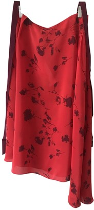Preen Red Viscose Skirts
