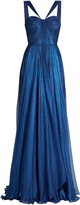 Maria Lucia Hohan Akilah silk-mousseline pleated gown
