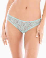 Soma Intimates Embraceable Allover Lace Cheeky Bikini
