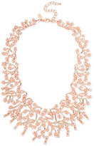INC International Concepts M. Haskell for Rose Gold-Tone Imitation Pearl and Crystal Statement Necklace, Created for Macy's