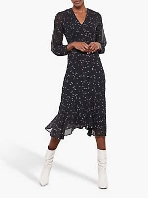 Mint Velvet Embroidered Dress, Multi