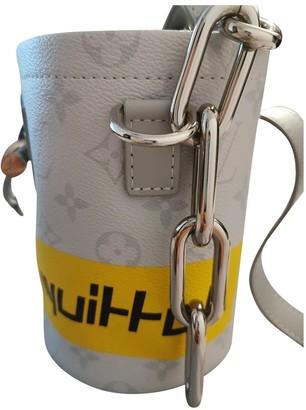 Louis Vuitton Chalk Nano Ecru Cloth Bags