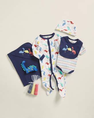 Baby Essentials Lily & Jack (Newborn Boys) 10-Piece Dinosaur Footie Gift Set
