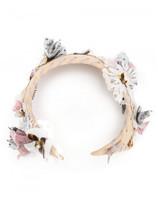 Maison Michel flower embellished head band