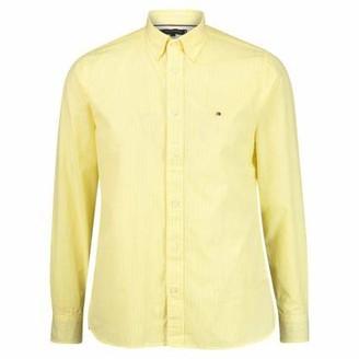 Tommy Hilfiger Men's Natural Soft POPLIN Stripe Shirt Dress