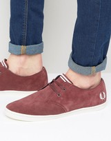 Fred Perry Byron Low Suede Trainers