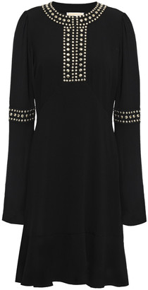 MICHAEL Michael Kors Studded Crepe Dress